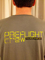 After Earth Crew Shirt Back