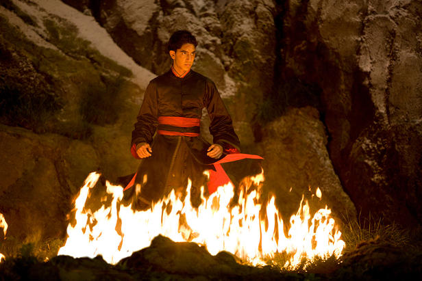 Dev Patel as Zuko in The Last Airbender