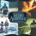 Last Airbender Poster featuring All Four Elements Bending
