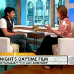 M. Night Shyamalan appeared on CBS' Early Show regarding The Last Airbender