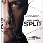 M. Night Shyamalan's SPLIT Blu-ray, DVD, Digital HD & VOD Release Details & Cover Art