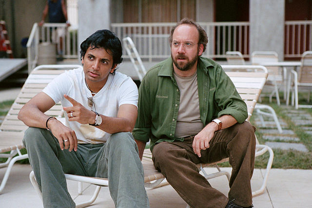 M. Night and Paul Giamatti