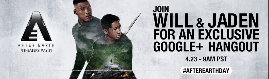 After Earth Google+ Hangout with Will Smith, Jaden Smith