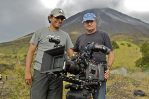 Director M. Night Shyamalan and cinematographer Peter Suschitzky, ASC, BSC